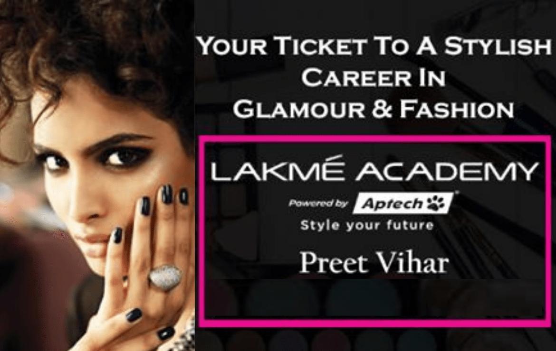 Lakme Academy Preet Vihar: Course Details, Admission, Fee